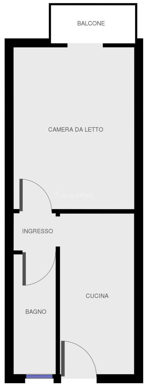 Bilocale Pavia Via Dei Mille 45 11