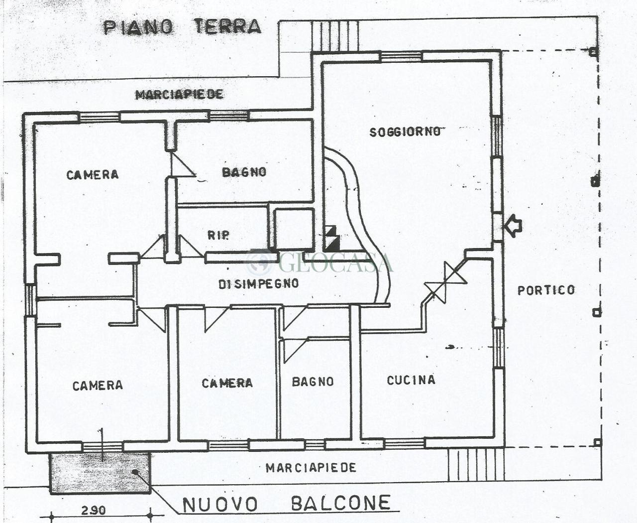Soluzione Indipendente in vendita a Aulla, 5 locali, prezzo € 190.000 | Cambio Casa.it