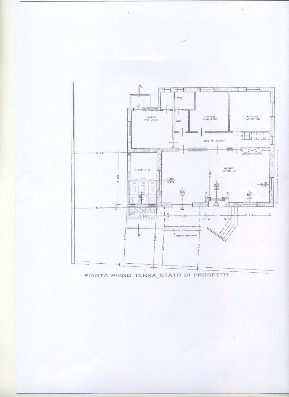 Ufficio / Studio in affitto a Altopascio, 9999 locali, prezzo € 900 | Cambio Casa.it