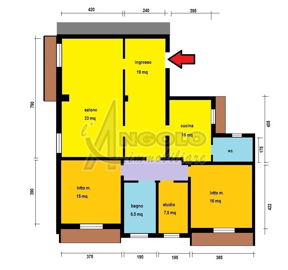 Monolocale in vendita - 150 mq