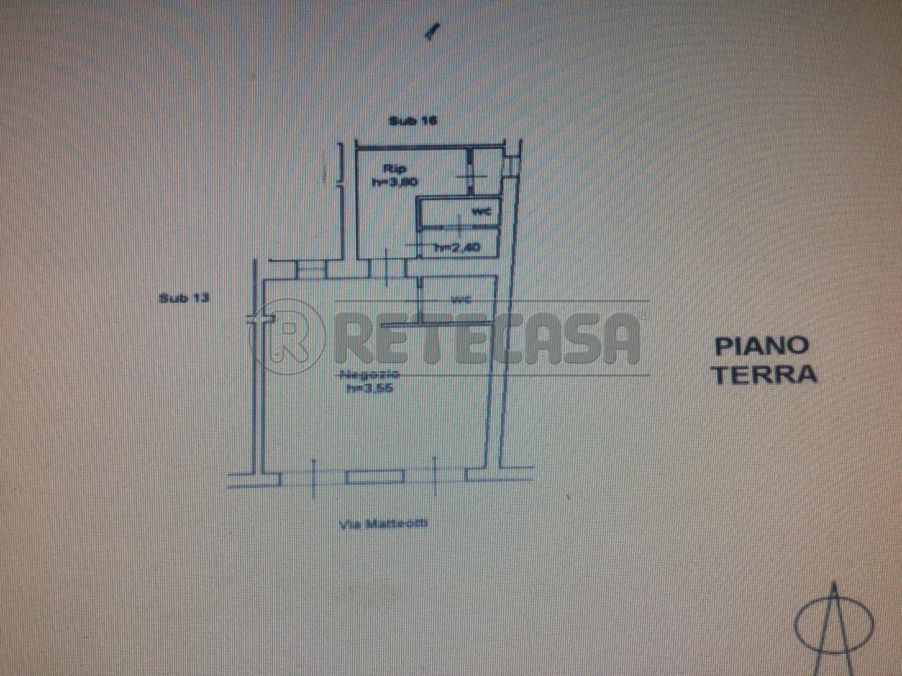 Negozio / Locale in affitto a Ancona, 9999 locali, prezzo € 700   Cambio Casa.it