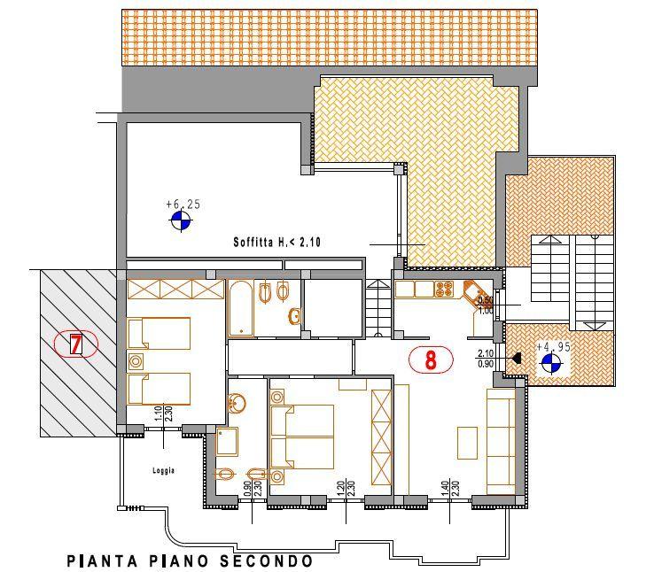 Attico / Mansarda in vendita a Chiesina Uzzanese, 5 locali, prezzo € 245.000 | Cambio Casa.it