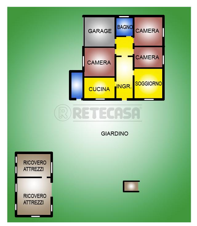 Soluzione Indipendente in vendita a San Giorgio delle Pertiche, 9999 locali, prezzo € 250.000 | Cambio Casa.it