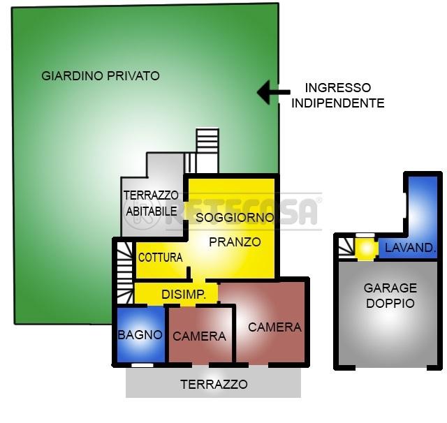 Appartamento in vendita a Casale sul Sile, 4 locali, prezzo € 160.000 | Cambio Casa.it