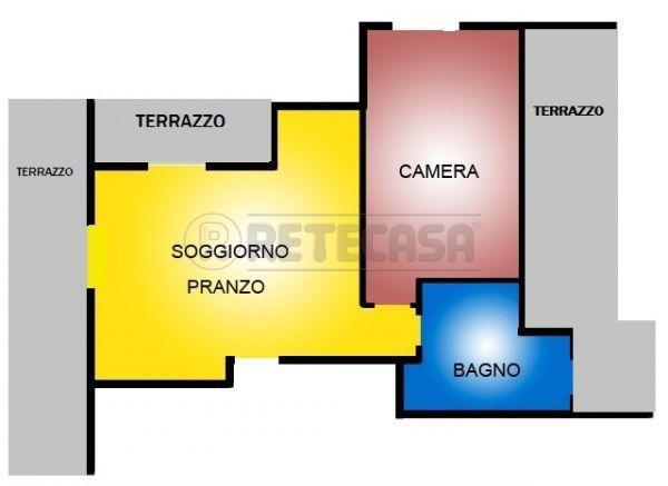 Bilocale Bologna Via Gaspari 1