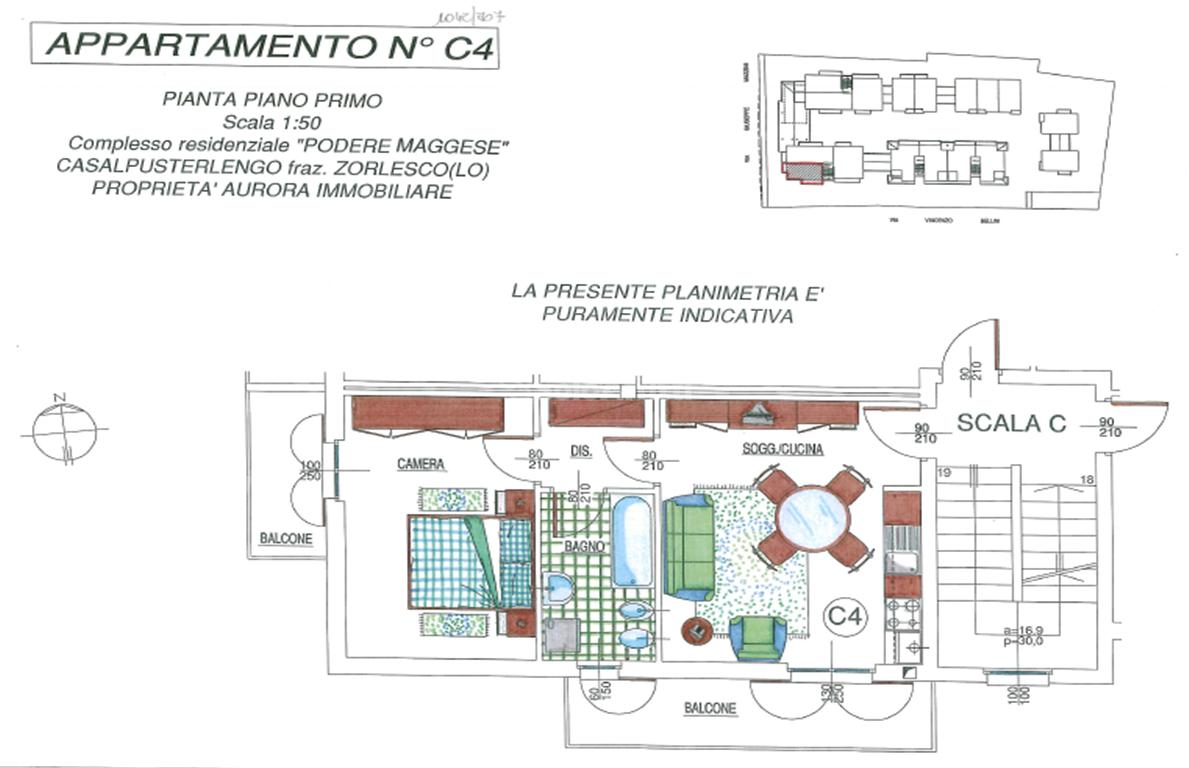 Bilocale Casalpusterlengo Via Mazzini 5