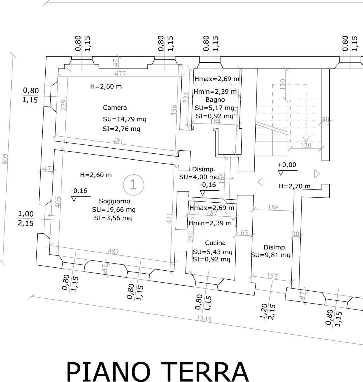 Bilocale Parma Via Venezia 153 6
