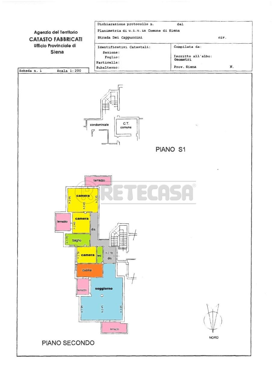 Appartamento in affitto a Siena, 5 locali, prezzo € 1.100 | Cambio Casa.it