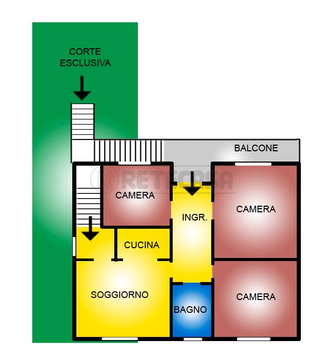 Appartamento in vendita a Borgoricco, 9999 locali, prezzo € 54.000 | Cambio Casa.it
