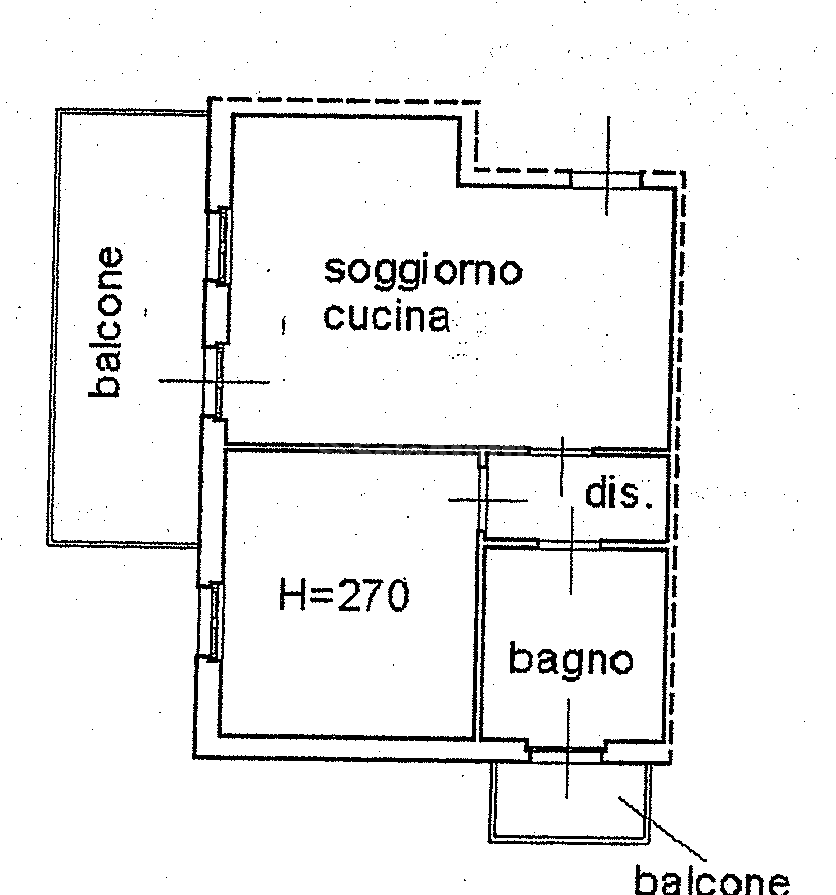 Bilocale Brescia Via Flero 37 11