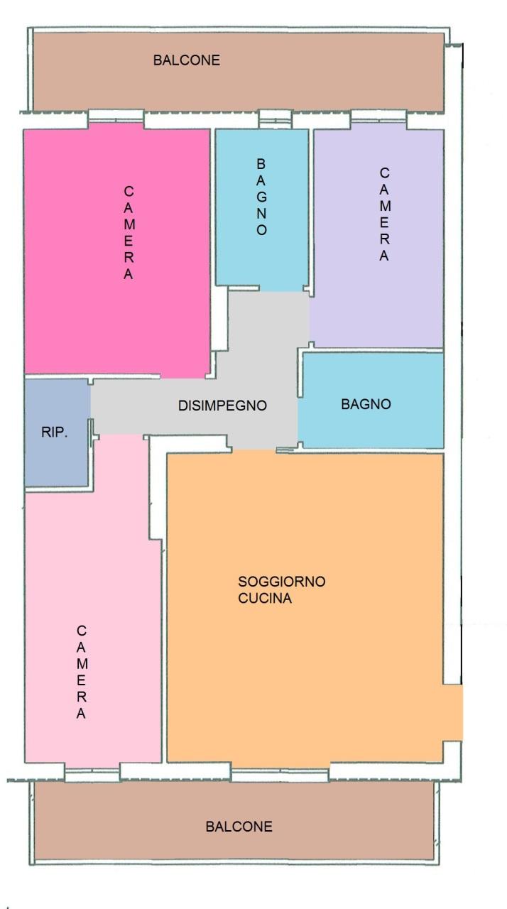 Appartamento in vendita a Decimomannu, 4 locali, prezzo € 132.000 | Cambio Casa.it