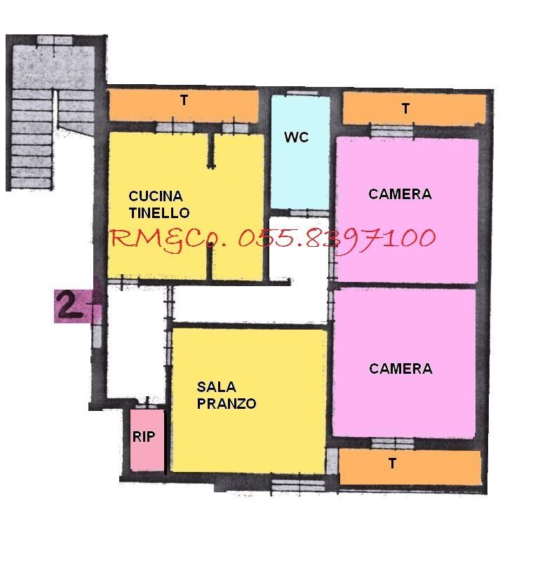 vendita appartamento dicomano   150000 euro  4 locali  94 mq