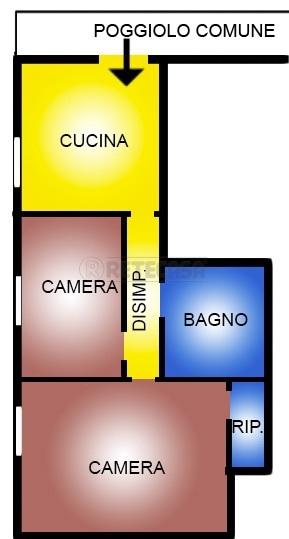 Appartamento in vendita a Casale sul Sile, 3 locali, prezzo € 62.000 | Cambio Casa.it
