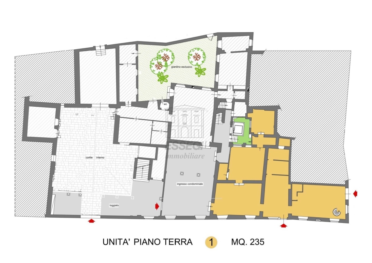 fondo commerciale Lucca Centro storico UF02851-unità 1 img 9