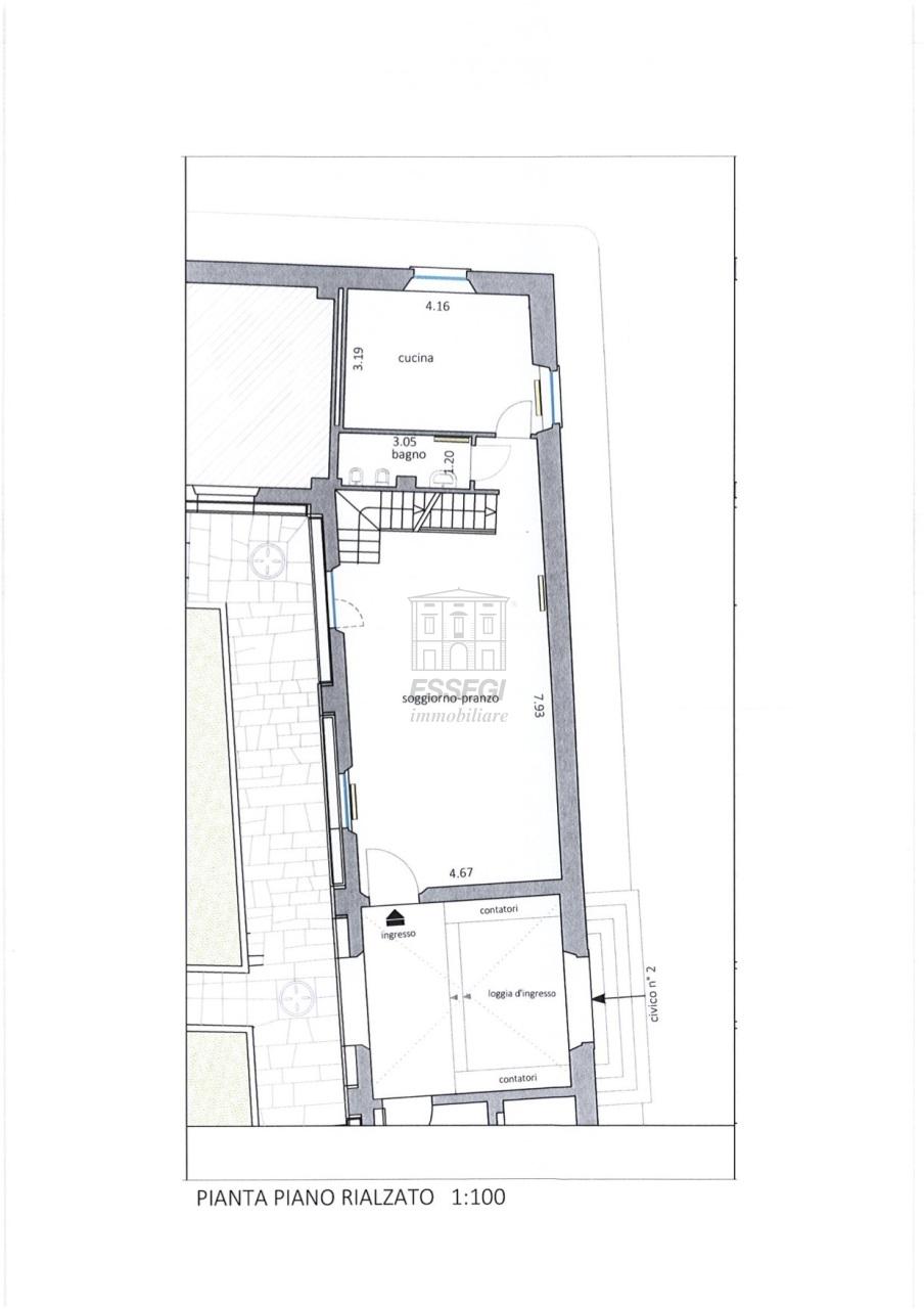 Appartamento Lucca Centro storico IA02854 img 7
