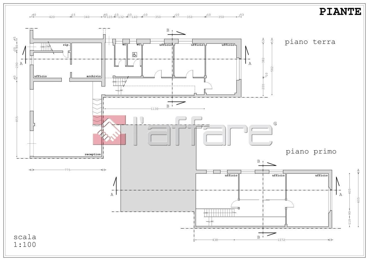Ufficio / Studio in vendita a Pontedera, 9 locali, prezzo € 530.000 | CambioCasa.it