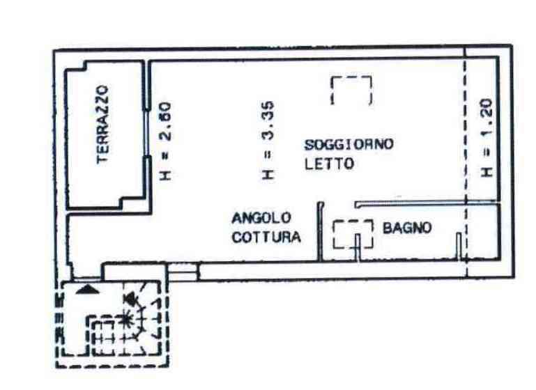 Bilocale Novara Via Verbano  - Veveri Sn 2