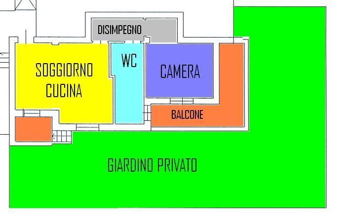 Bilocale Brescia Via Milano 105 8