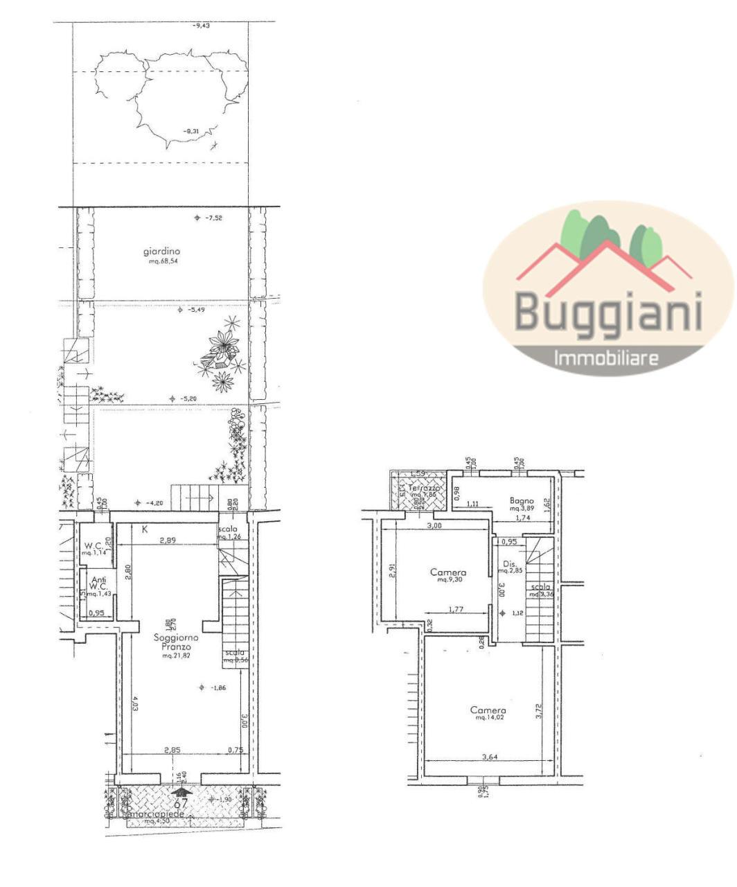 Terratetto in vendita RIF. 2386, San Miniato (PI)
