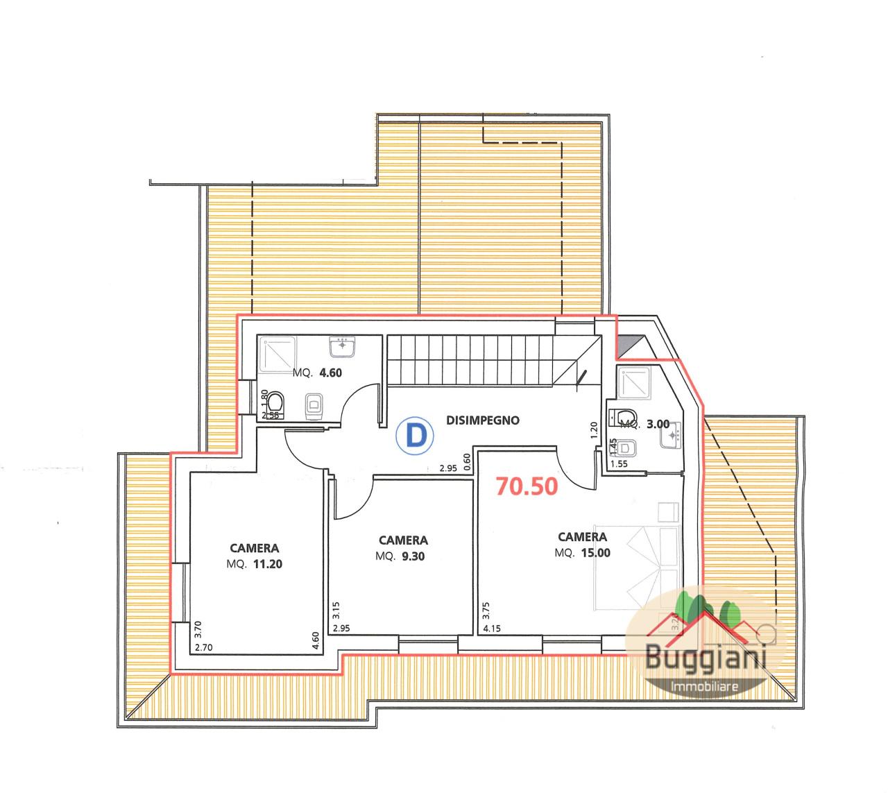 Terratetto in vendita RIF. 2121, San Miniato (PI)