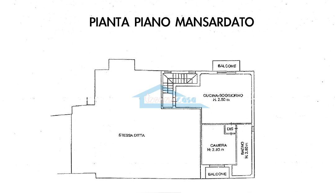 Piantina apt 4 Appartamento  a Adro