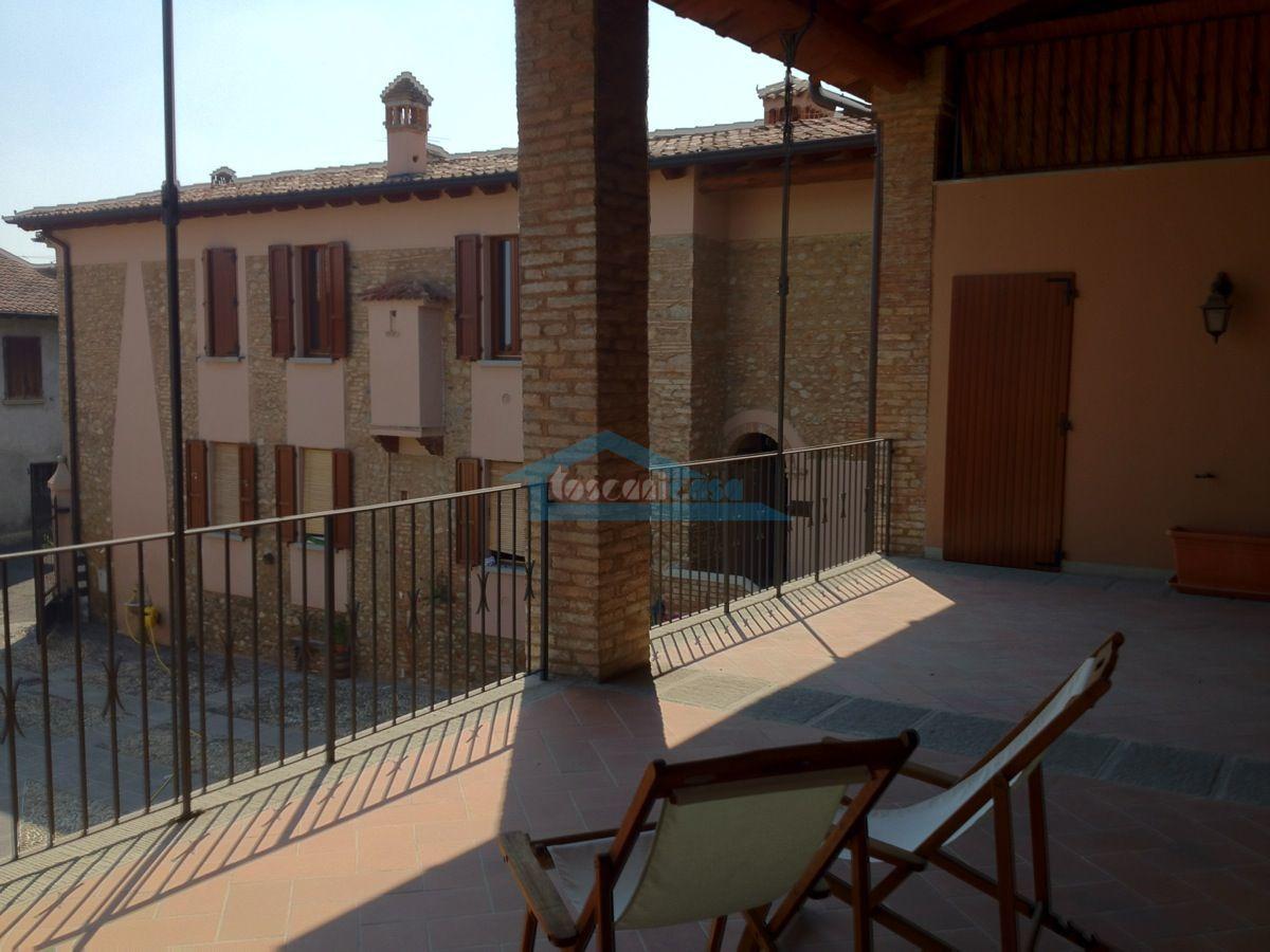 Vista dal loggiato Appartamento  a Cazzago San Martino