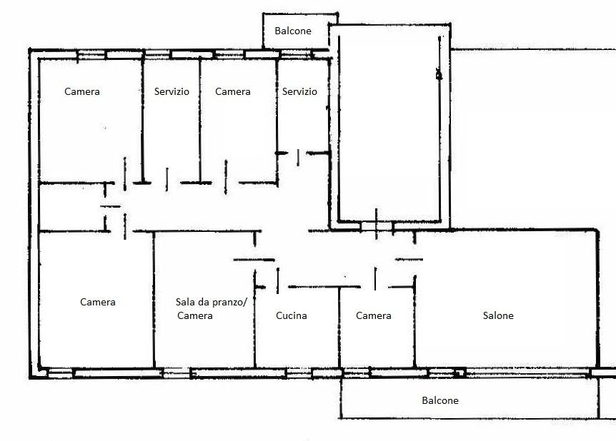 Appartamenti e Attici BRESCIA vendita  Via Cremona  Agenzia Caravaggi s.a.s.