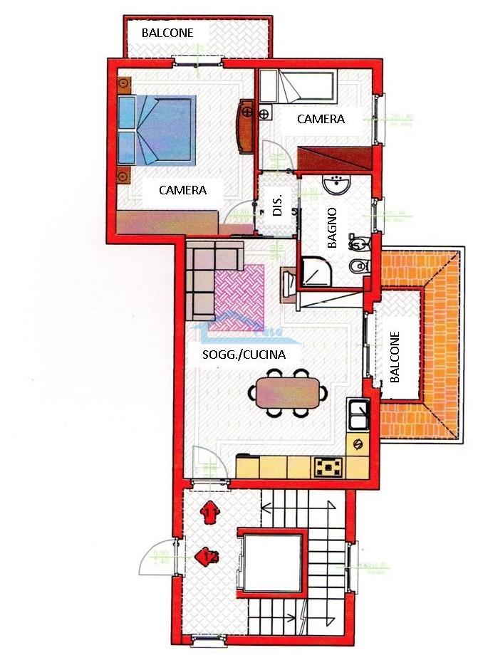 Trilo 2Piano Scala B Appartamento  a Capriolo