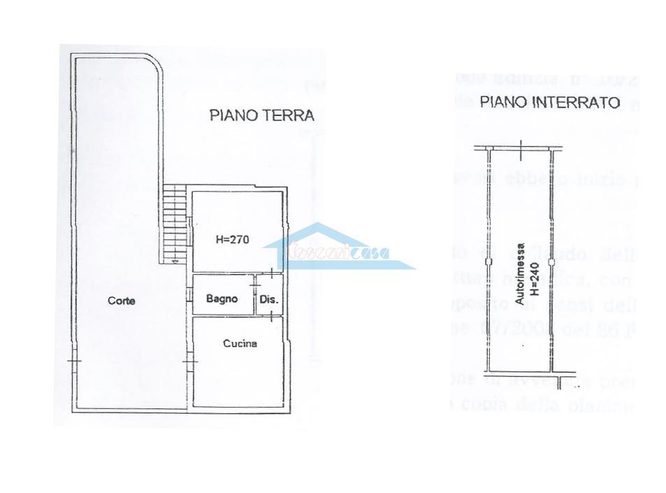 Planimetria Appartamento  a Adro