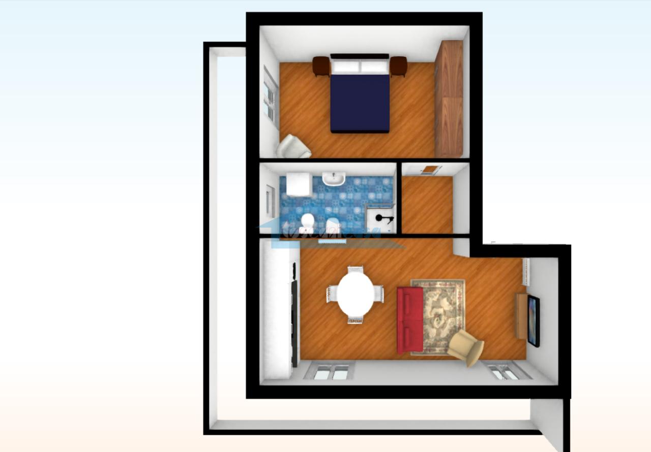 Planimetria 3D Appartamento  a Capriolo