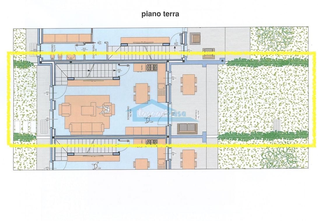n.13 Piano Terra Villa a schiera  a Palazzolo sull'Oglio