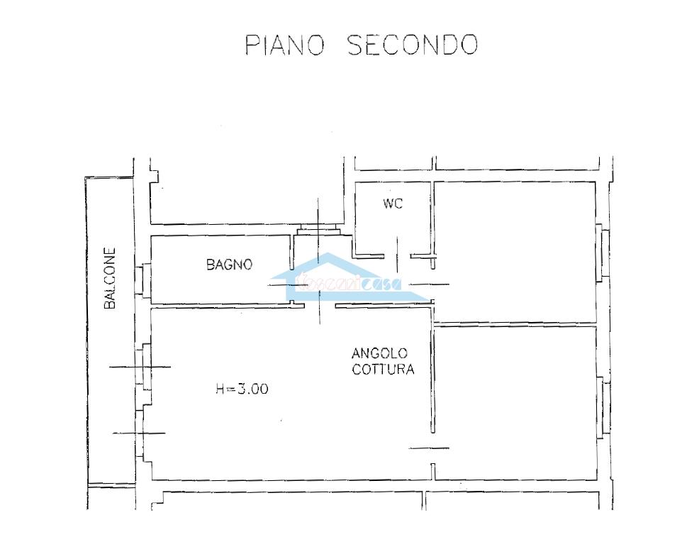 Planimetria Appartamento  a Rovato