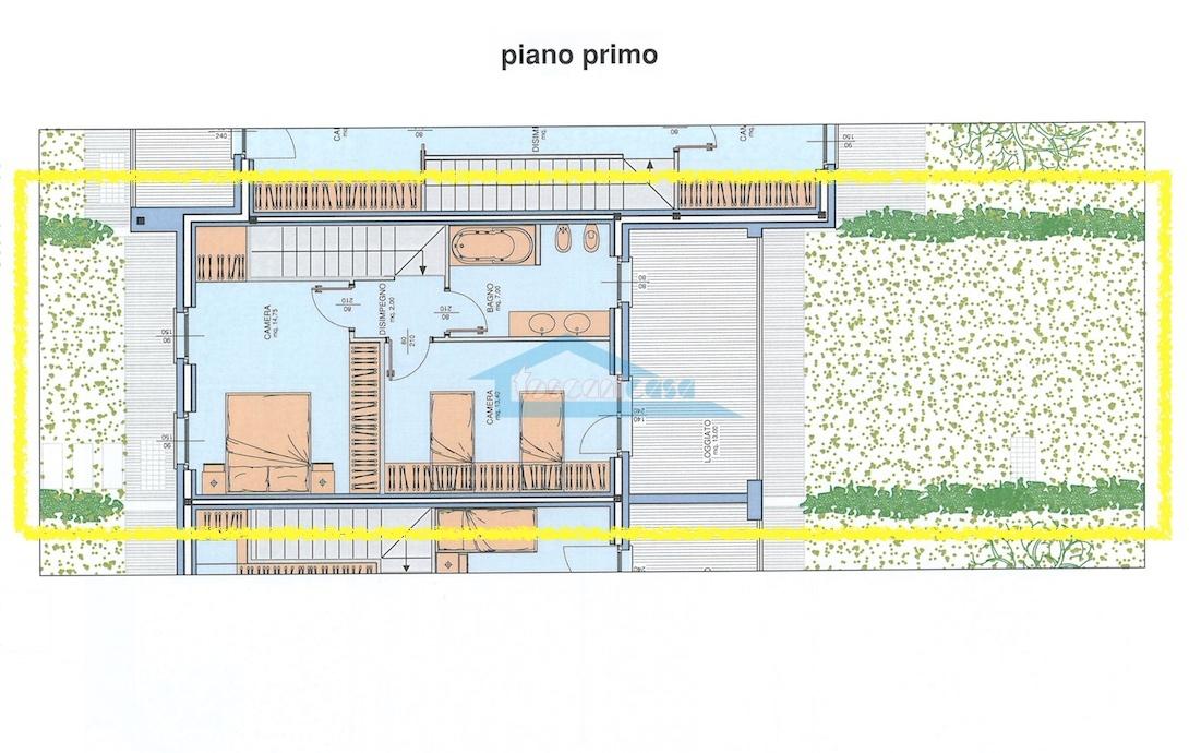 n.13 Piano Primo Villa a schiera  a Palazzolo sull'Oglio