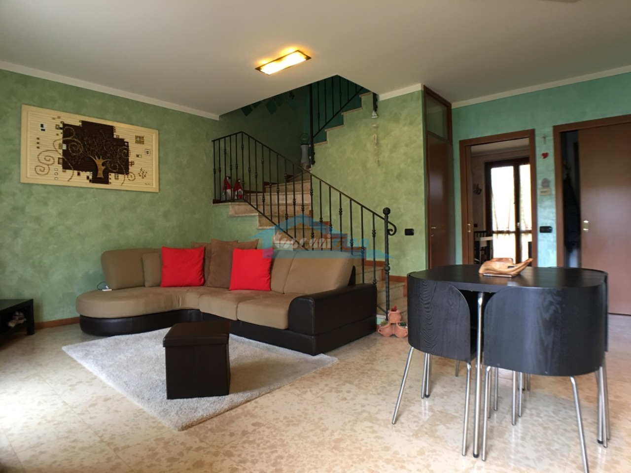 Sala Villa a schiera  a Adro