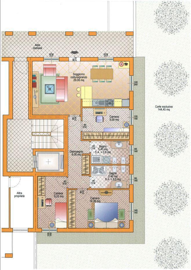 Appartamento in vendita a Chiari, 4 locali, prezzo € 219.000 | Cambio Casa.it