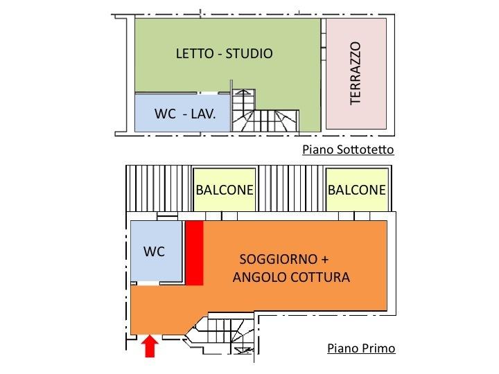 Bilocale Mercato Saraceno  2