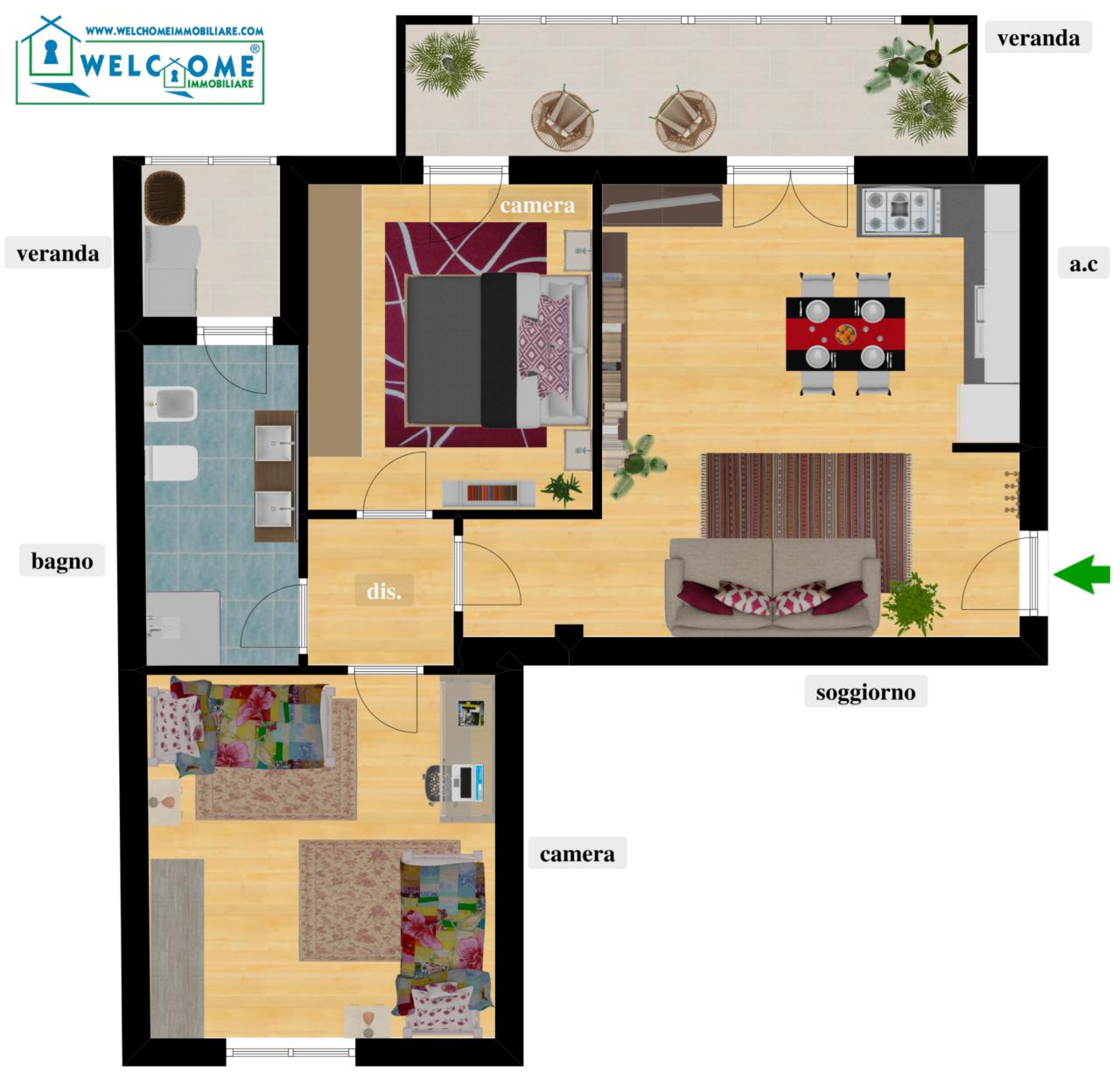 Appartamento in vendita a Quartucciu (CA)