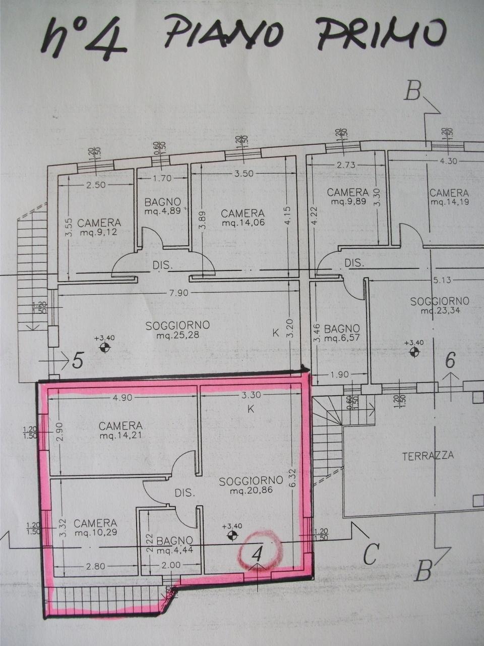 Casa semindipendente in vendita, rif. 2114