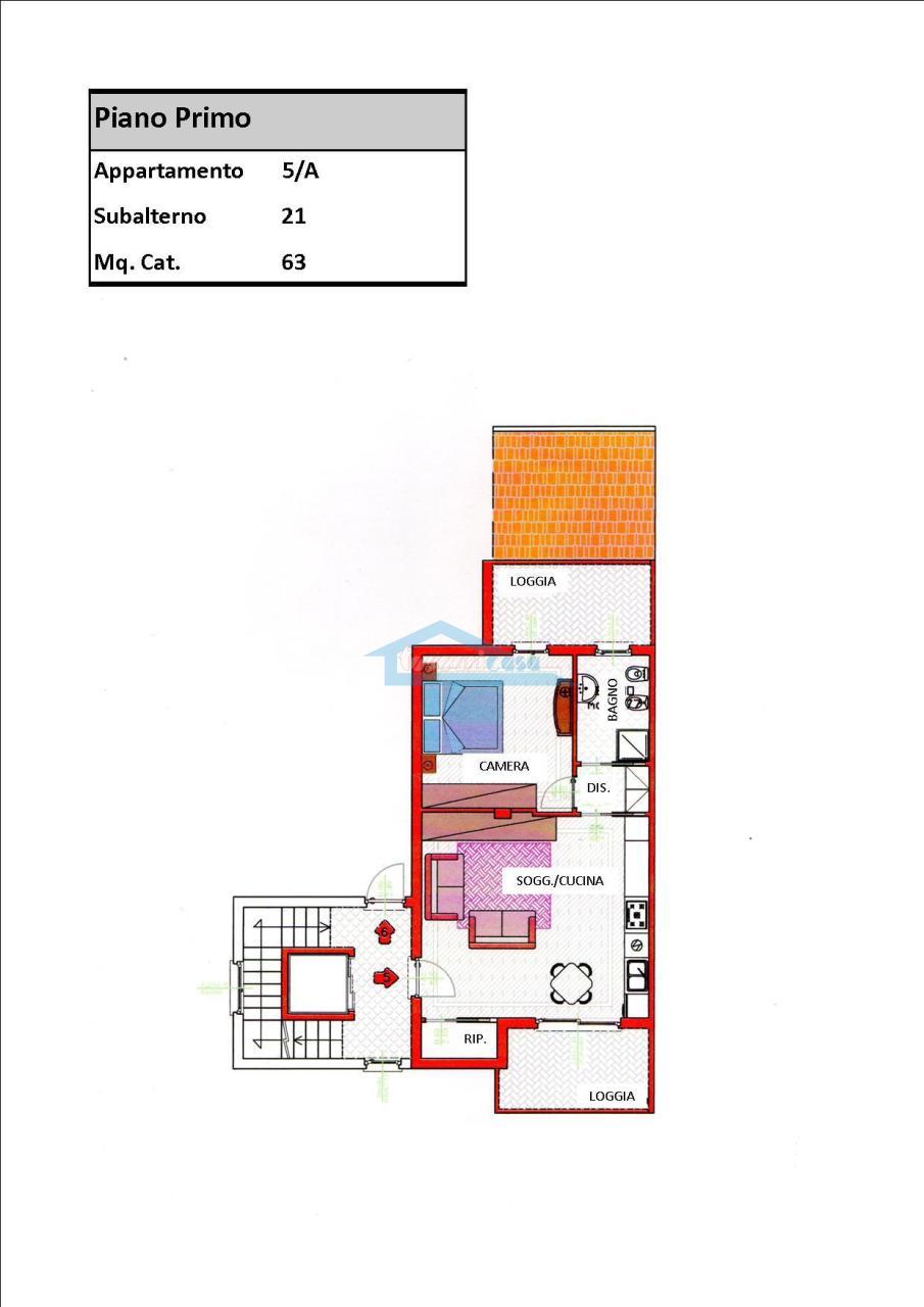 Planimetria Appartamento  a Capriolo