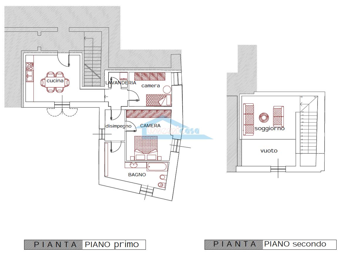 Planimetria Appartamento  a Corte Franca