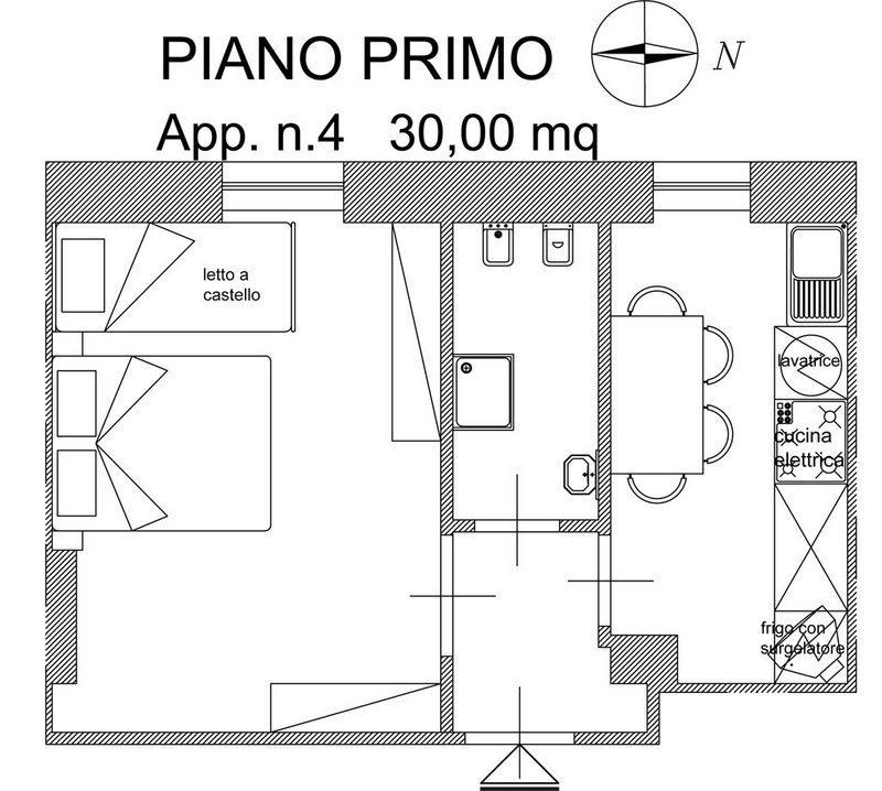 Bilocale Cupra Marittima Via Trento 6