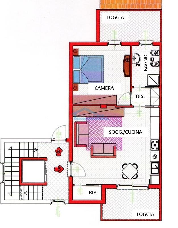 Bilocale 1P Appartamento  a Capriolo