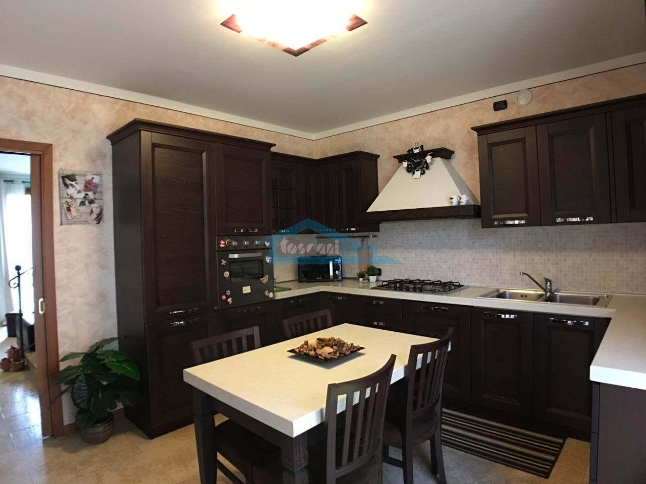 Cucina abitabile Villa a schiera  a Adro