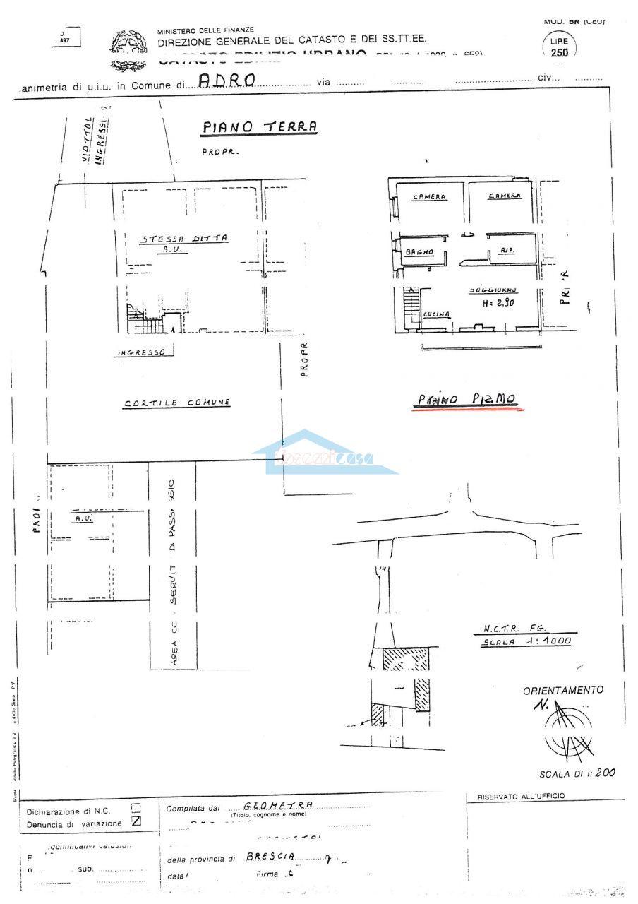 scheda appartamento Appartamento  a Adro