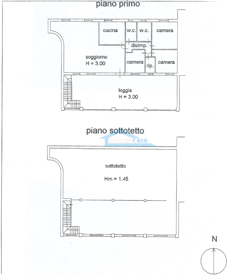 Appartamento Piano primo + solaio Appartamento  a Cazzago San Martino