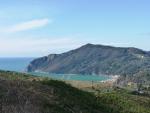vista sul mare di Riva Trigoso