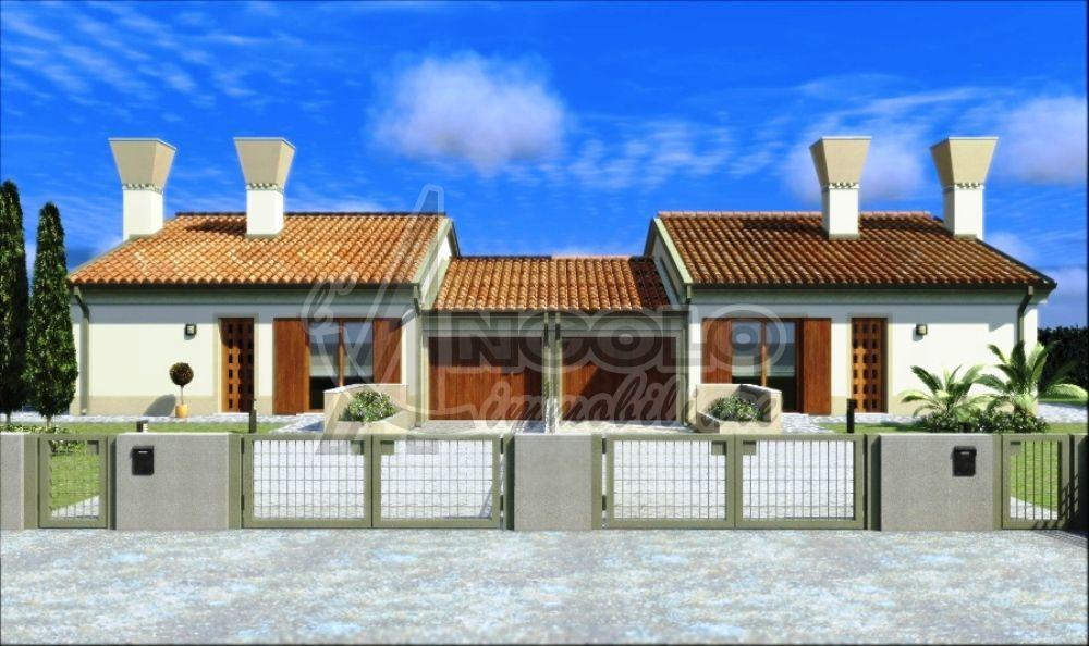 Case indipendenti in vendita a rovigo in zona grignano for A forma di casa con piano piano unico