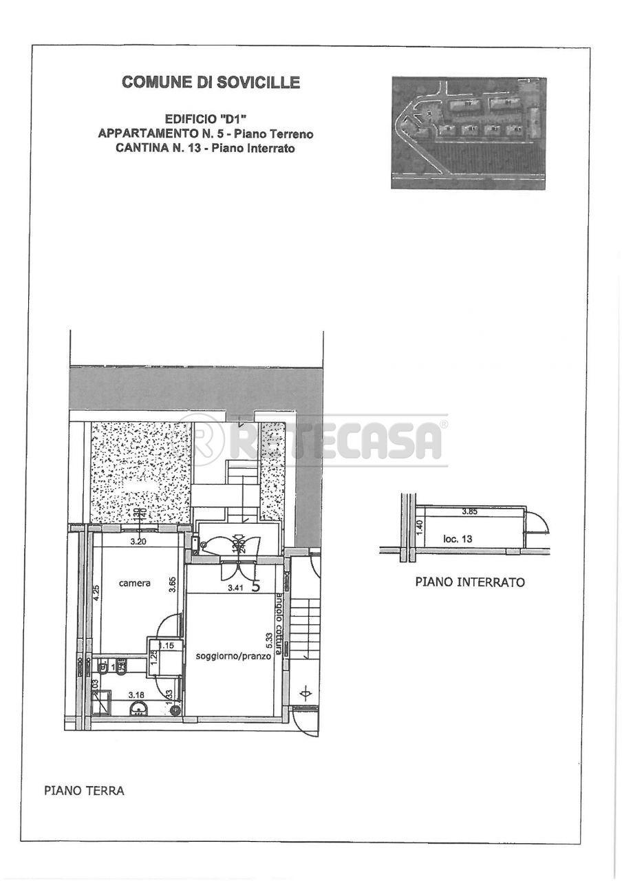 Appartamento in vendita a Sovicille, 2 locali, prezzo € 124.000 | Cambio Casa.it