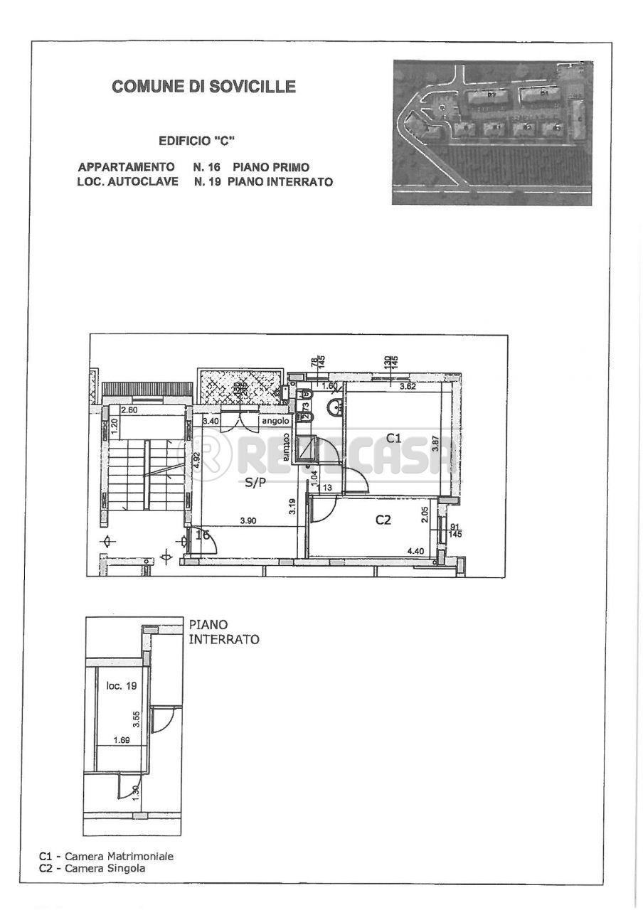 Appartamento in vendita a Sovicille, 3 locali, prezzo € 165.000 | Cambio Casa.it