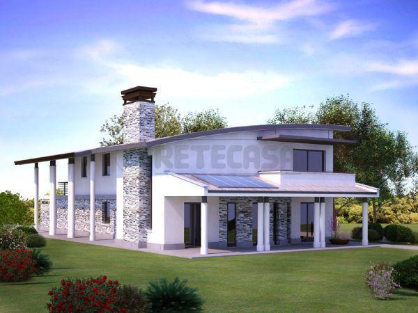 Casa singola in vendita a mirano di 160mq miv704 retecasa for Piani casa contemporanea moderna in vendita